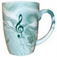 Aim Music Marbelized Music Mug