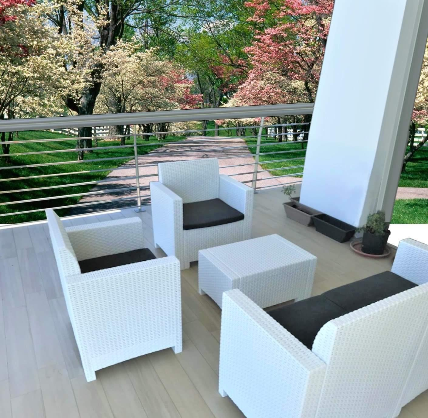 Italian outdoor furniture patio dining sets & outdoor conversation sets