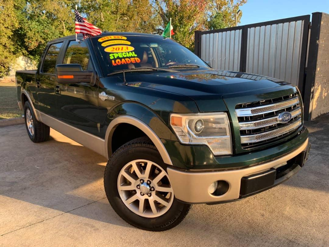 Ford king ranch 2013