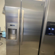 kenmore stainless 33 inch